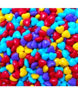 סוכריות סודה לבבות צבעוניים 300 גרם