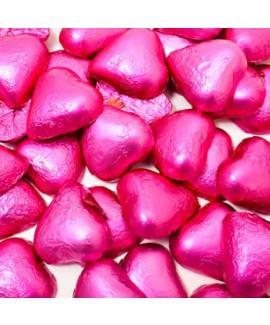 חבילת שוקולד סוריני לב ורוד