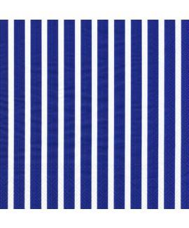 מפיות נייר פסים כחול לבן