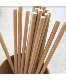 קש נייר במראה טבעי