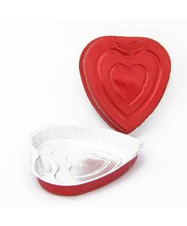 תבנית אפייה לב אדום