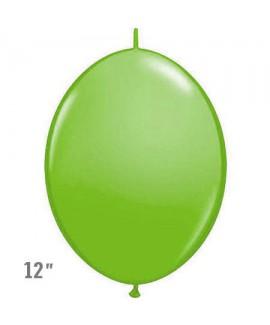 בלוני שרשרת בצבע ירוק בהיר- לניפוח עצמי