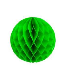 כדור נייר כוורת ירוק