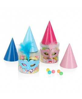 משלוח מנות מיקס ממתקים קטן עם כובע