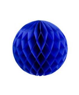 כדור נייר כוורת כחול