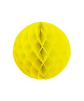 כדור נייר כוורת צהוב