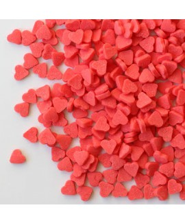 סוכריות לעוגה מיני לבבות אדומים