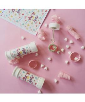 מדבקות מיתוג לבועות סבון