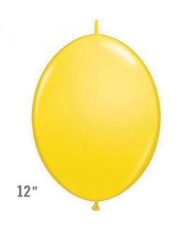 בלוני שרשרת בצבע צהוב- לניפוח עצמי