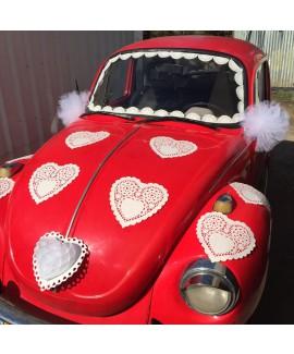 קישוט רכב חתונה אורינטל