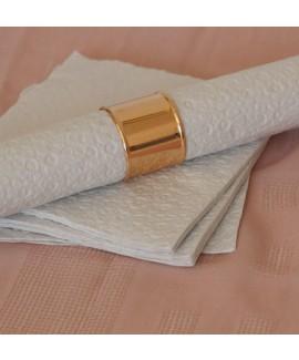 חבק מפיות טבעת רחבה רוז גולד
