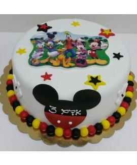 עוגת יום הולדת מיקי מאוס