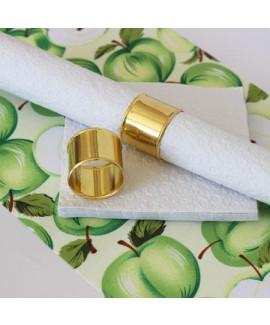 חבק מפיות טבעת רחבה מזהב