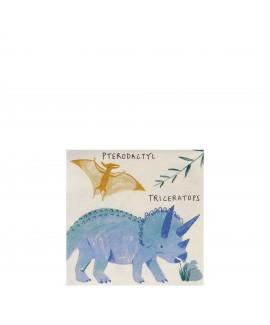 מפיות קוקטייל דינוזאורים- meri meri