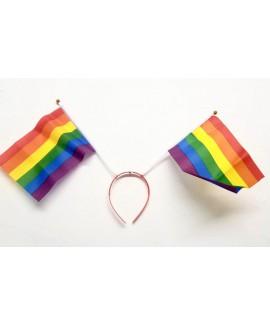 קשת לראש דגלי גאווה