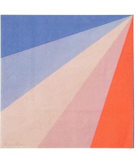 מפיות קטנות גלגל הצבעים - Meri Meri