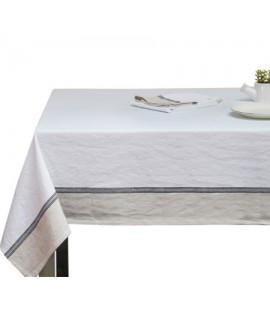 מפת שולחן לבנה יוקרתית