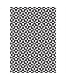 נייר עטיפה שחור לבן