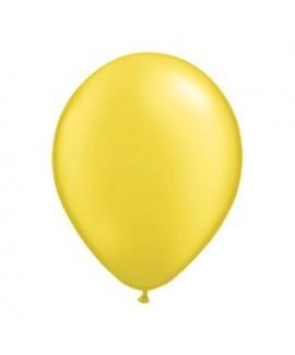 10 בלונים בצבע צהוב- ללא ניפוח