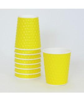 כוסות בועות - צהוב