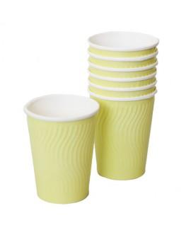 כוסות גלים- צהוב