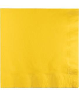 מפיות גדולות 3 שכבות צהוב