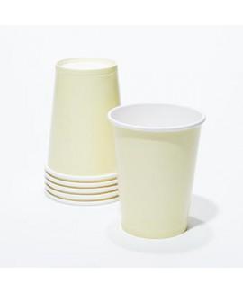 כוסות נייר קרם