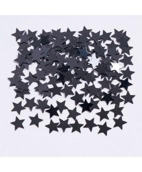 קונפטי כוכבים שחור