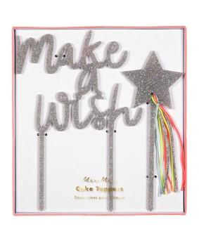 קייק טופר make a wish - Meri Meri