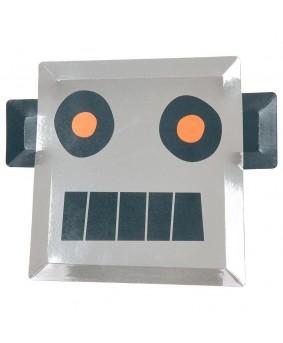 צלחות רובוט- meri meri
