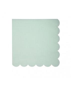 מפיות קוקטייל גווני פסטל 4 צבעים- meri meri