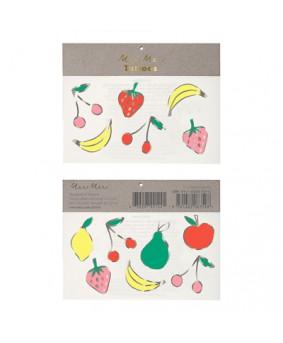Meri Meri- קעקועי פירות