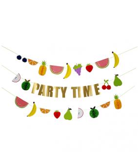 גרלנדת PARTY TIME פירות- Meri Meri