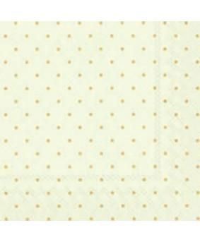 מפיות רקע ירקרק נקודות קטנות זהב