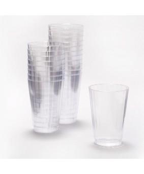 כוסות פלסטיק שקופות קשיחות