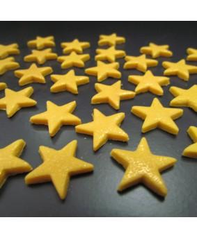 קישוט בצק סוכר - כוכבים