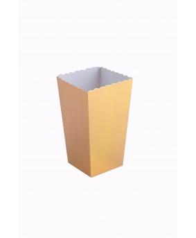 קופסת פופקורן קטנה זהב