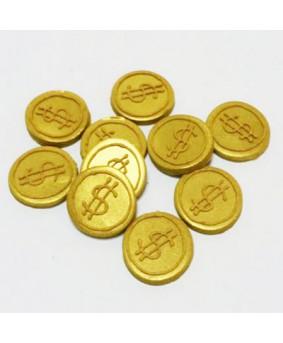 קישוט בצק סוכר - מטבעות מטמון