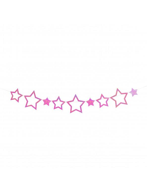 שרשרת כוכבים אולטרה ורוד