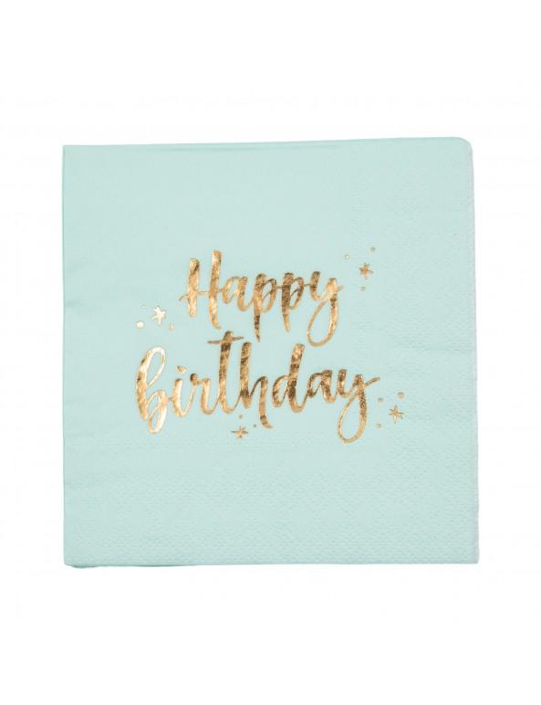 מפיות קוקטייל מנטהHappy Birthday, מפיות, מפית, מפיות קוקטייל, מפית קוקטייל, קוקטייל, מפיות ים הולדת, Happy birthday, עיצוב שולחן יום הולדת, סידור שולחן, עיצוב שולחן, סידור שולין, מפית מנטה, מפיות מנטה