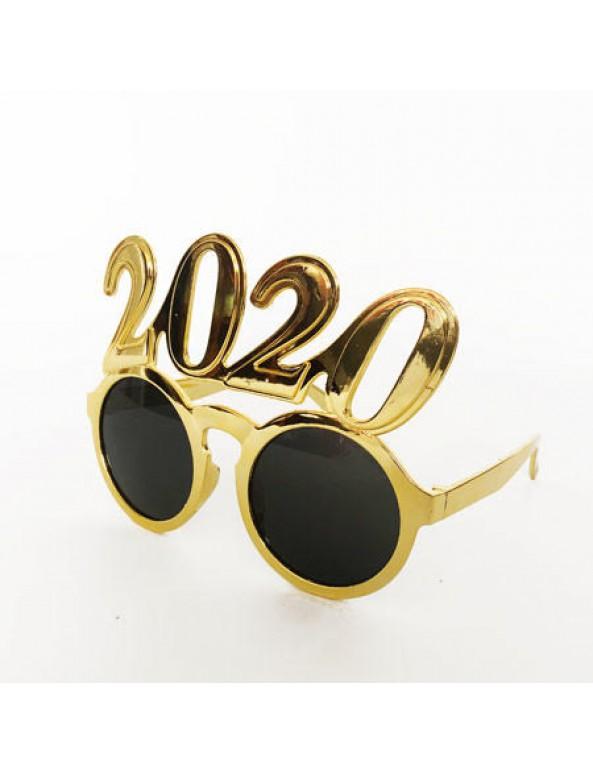 משקפי זהב Happy New Year, 2020, סילבסטר, משקפי זהב 2020
