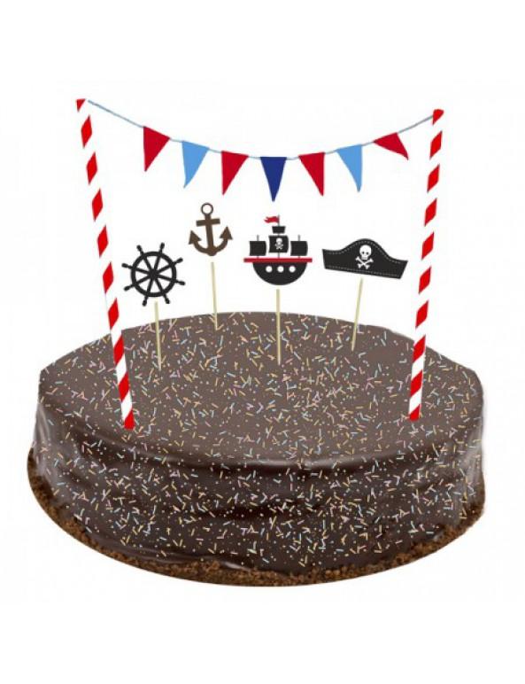 ערכת קישוטים לעוגה