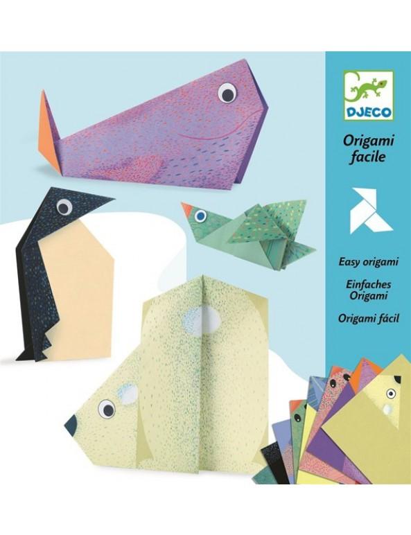אוריגמי- חיות הקוטב
