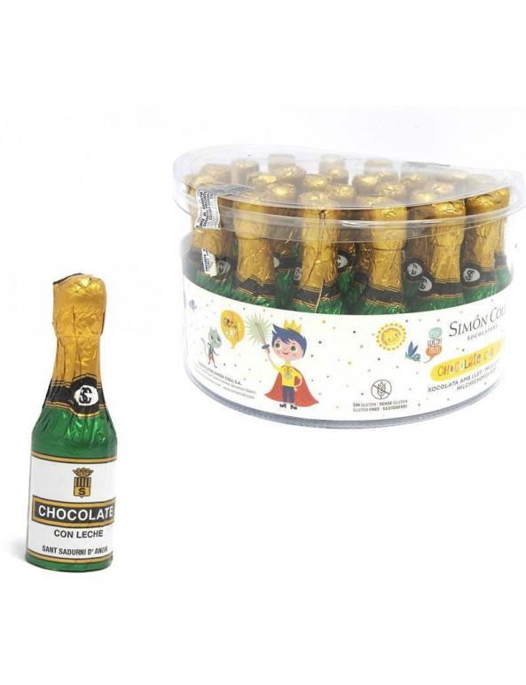 שוקולד, סנטה קלאוס, כריסטמס, בקבוק שמפניה עשוי שוקולד, שמפניה, שוקולד שנה חדשה, סילבסטר, new year