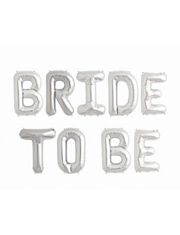 בלון, בלונים, בלון מיילר, בלון כסף, מסיבת רווקות, קישוט, קישוטים, בלון לקישוט, בלונים לקישוט, בלוני מסרים, בלון מסרים, Bride to be
