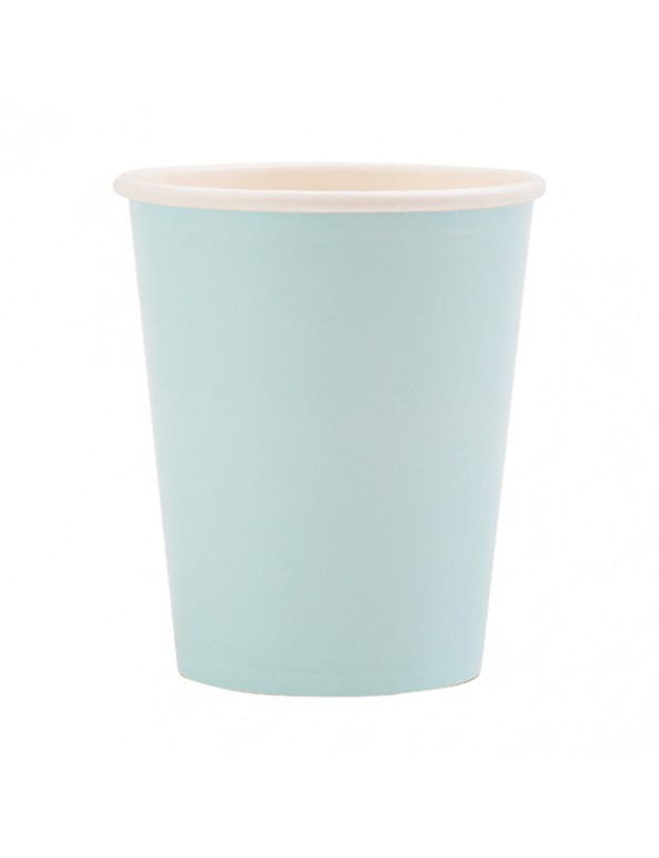כוסות נייר תכלת, כוסות נייר גדולות תכלת, כוסות נייר, כוס נייר, כוס תכלת, כוסות תכלת, נייר, כלים מנייר, עיצוב שולחן, סידור שולחן