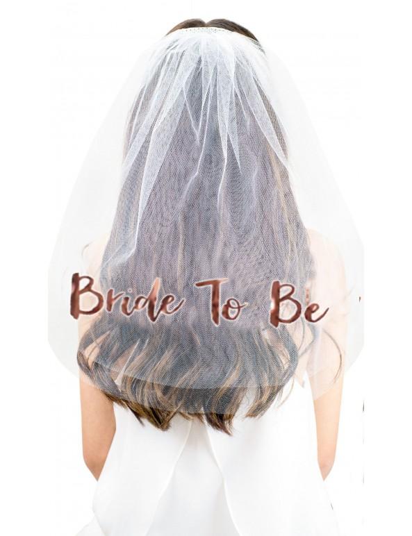 סיכת הינומה Bride To be