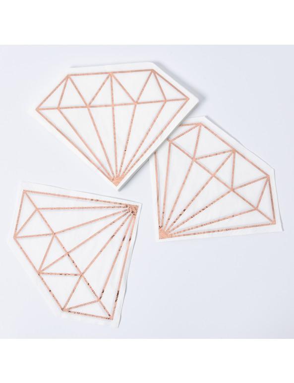 מפיות בצורת יהלום