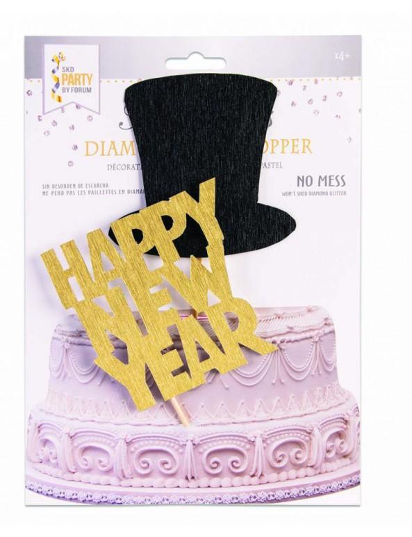 קייק טופר Happy New Year