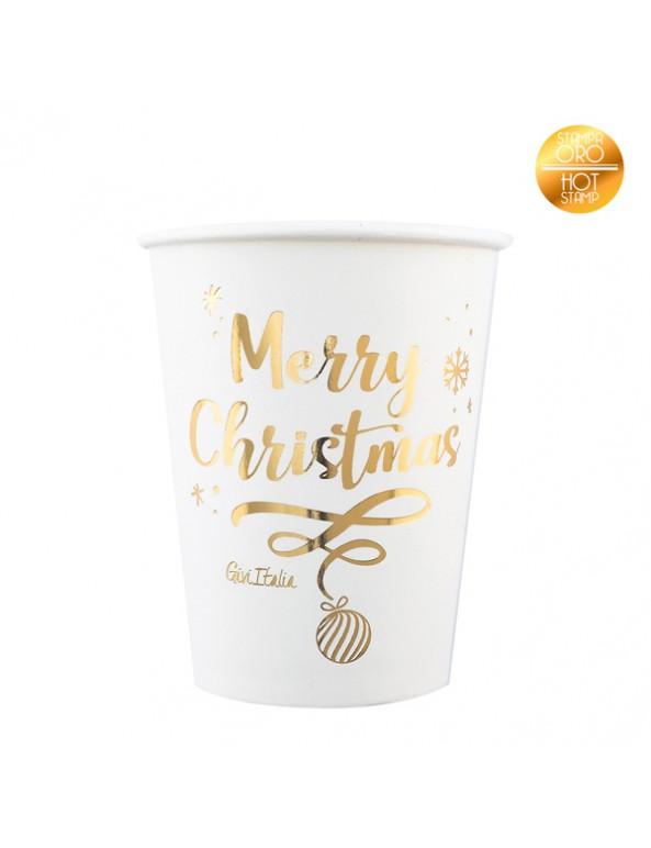 כוסות נייר merry christmas